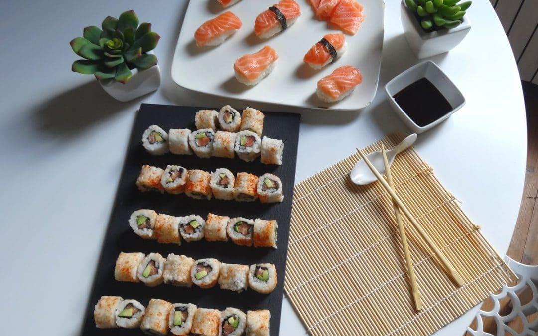 Makis, California rolls, Nigiri & Sashimi