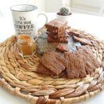 Spéculoos Vegan, A déguster avec du thé, du café, une tisane... | L'Atelier de Noisette