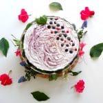 Cheesecake végétal Mûres & Myrtilles