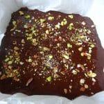 Brownie au halva pistache | L'Atelier de Noisette