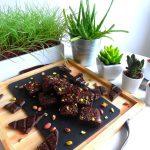 Brownie au Halva pistache