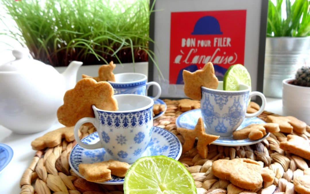 Biscuits Gingembre – Citron vert