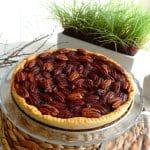 Tarte aux noix de pécan & sirop d'érable