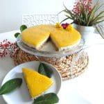 Cheesecake végétal coco & mangue | L'Atelier de Noisette