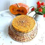 Cheesecake potiron & chocolat
