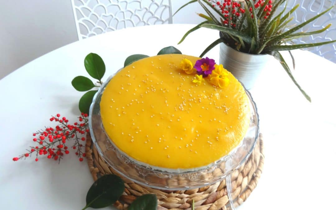 Cheesecake Végétal coco & mangue